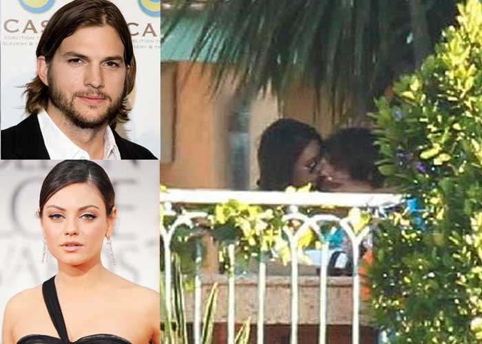 Jackie and Kelso forever: Mila, Ashton sealed with a kiss