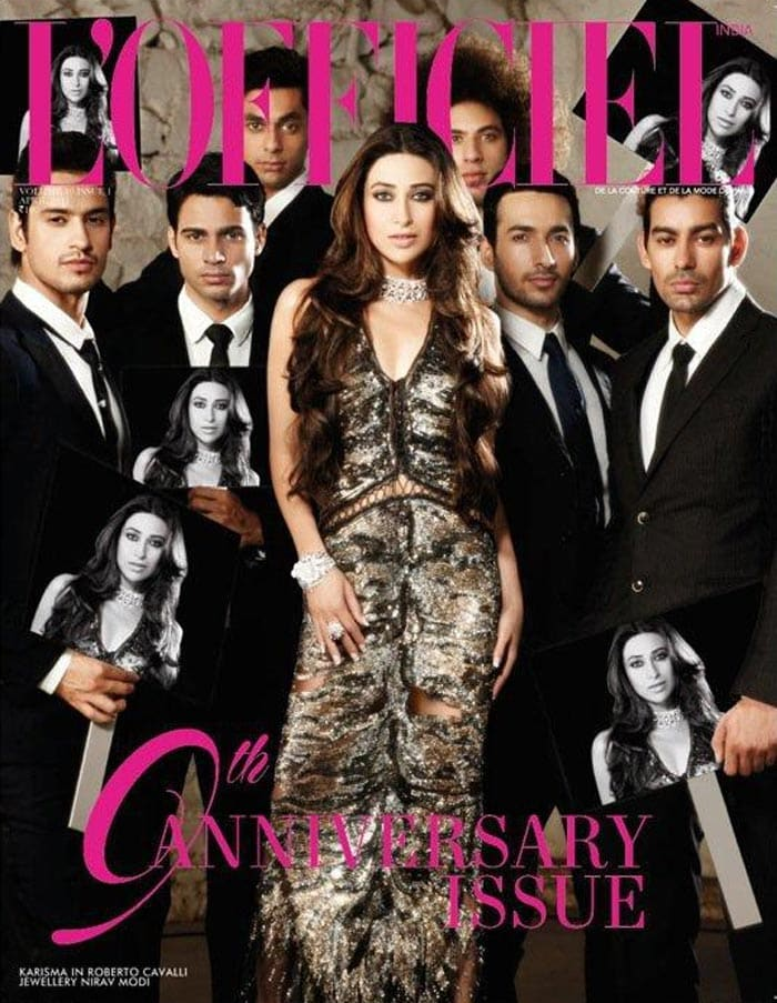Karisma's L'officiel Cover