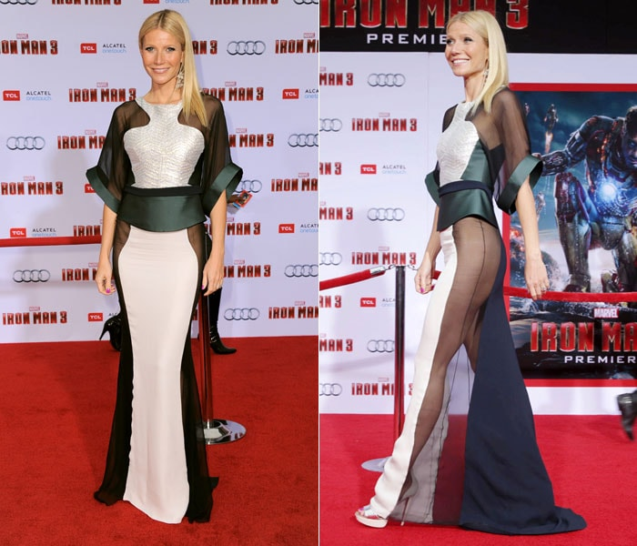 Gwyneth's attention-seeking dress