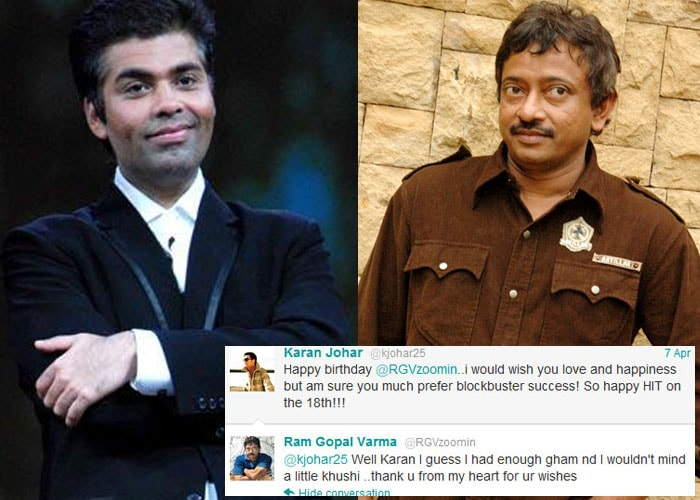 RGV can't say thank you nicely to Twitter birthday wishes