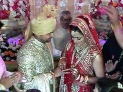 Photo : Congratulations, Mr & Mrs Suresh Raina