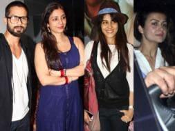 Photo : So filmy: Shahid, Tabu, Genelia, Amrita