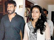 Photo : Kajol, Ajay attend engagement party