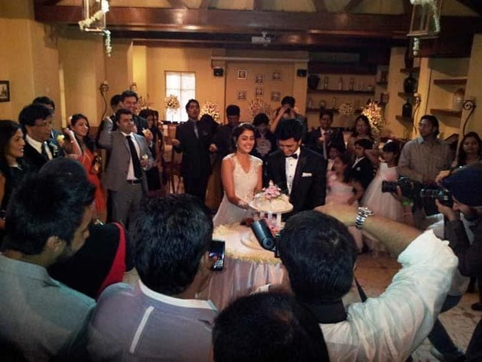 Inside Riteish-Genelia's Church wedding