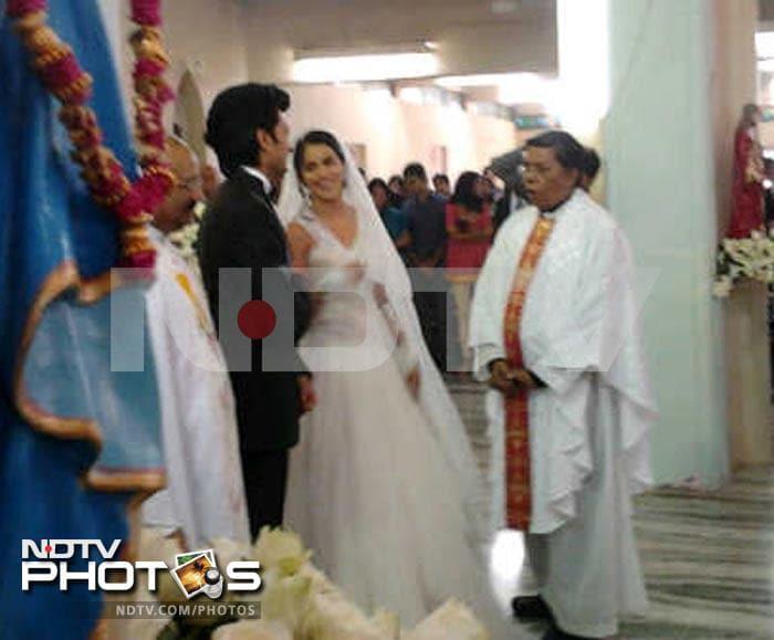 Genelia : Chruch Wedding + Reception Updated (Page 2) | 2762905 ...