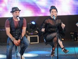 Farhan Akhtar, Shraddha Akhtar Rock The Stage <i>Dobara</i>