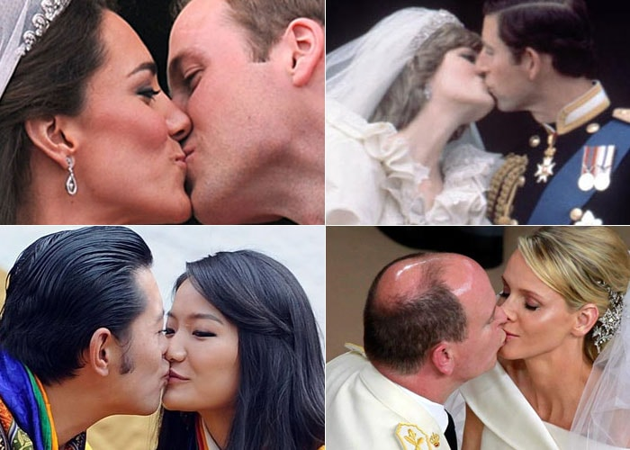Top 10 Royal kisses