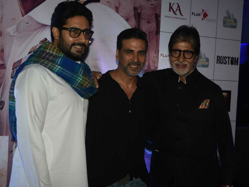 Akshay's Rustom Screening Made Big by Bachchans, Shilpa, John