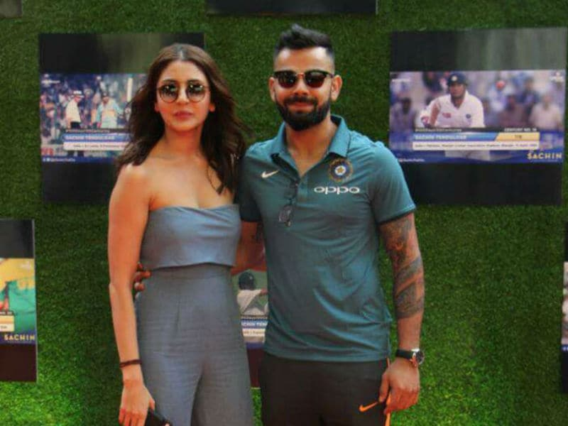 Anushka And Virat Headline Premiere Of Sachin's Film
