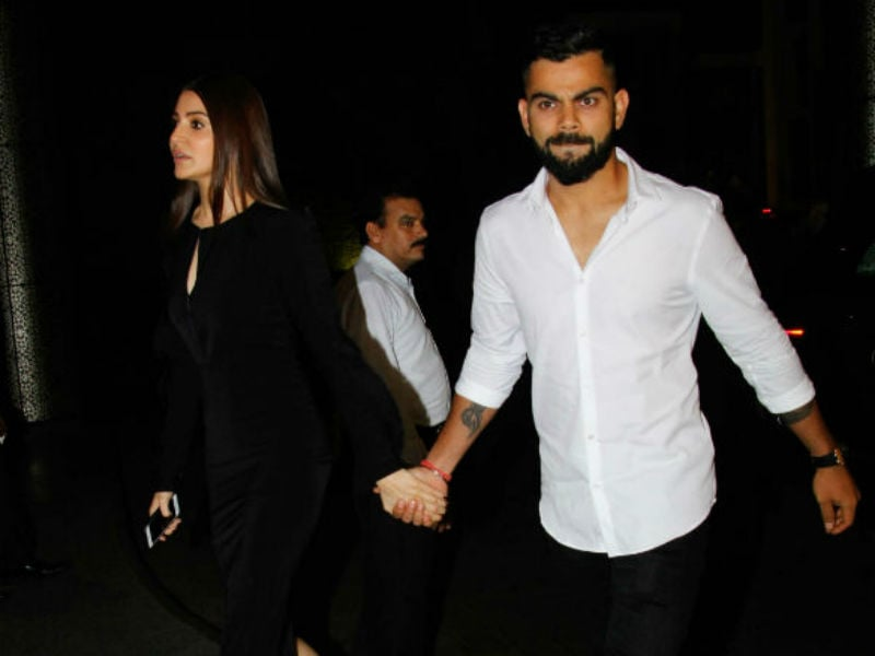 Anushka, Virat Arrive Hand-In-Hand At Zaheer, Sagarika's Engagement Party