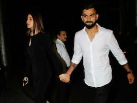 Anushka, Virat Arrive Hand-In-Hand At Zaheer, Sagarika's Engagement Party