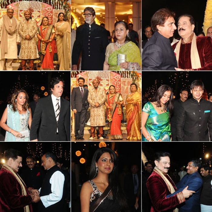 Stars, Politicians at Sahara Wedding