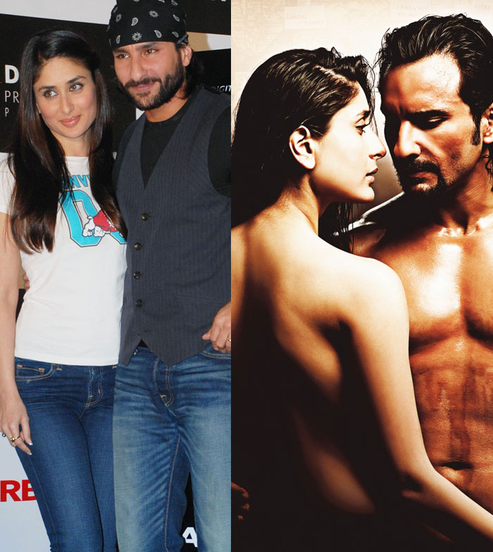 Saif defends Kareena's 'bare-back' move!