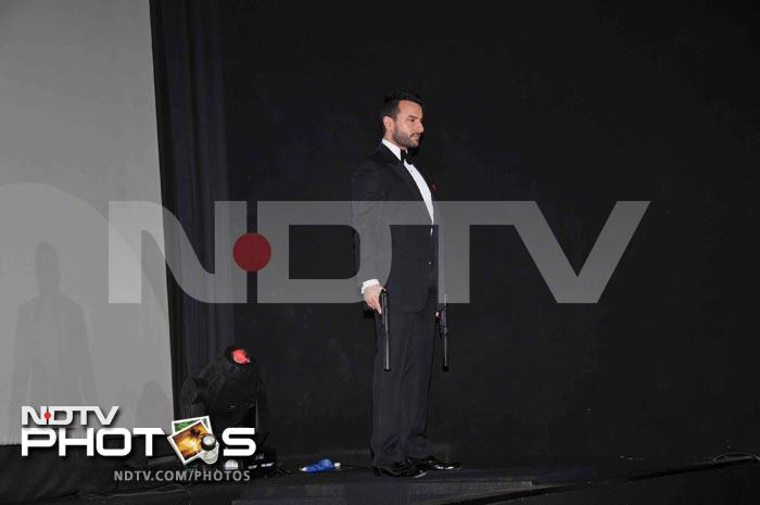 Saif Ali Khan launches trailer of Agent Vinod