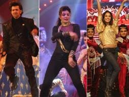 Photo : The Bollywood Effect at Saifai: Hrithik, Jacqueline, Lisa Dance
