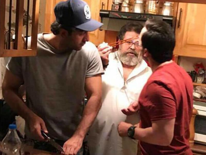 Saif Ali Khan And Ranbir Kapoor Were Chefs At Family Get-Together