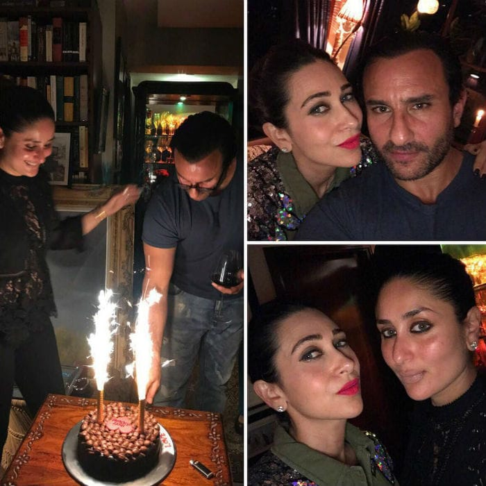 Kareena Kapoor and Sara Ali Khan sizzle at Saif Ali Khan's party