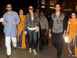 Photo : Saif-Kareena, Hrithik's Airport Jugalbandi