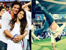 Photo : SRK, Suhana and the IPL Somersault