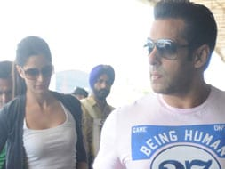 Photo : Salman, Katrina leave for Bangkok together
