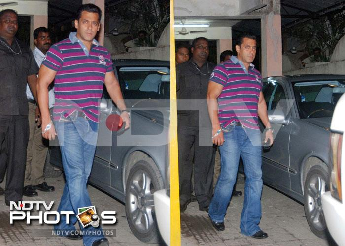 Salman and family go to the movies