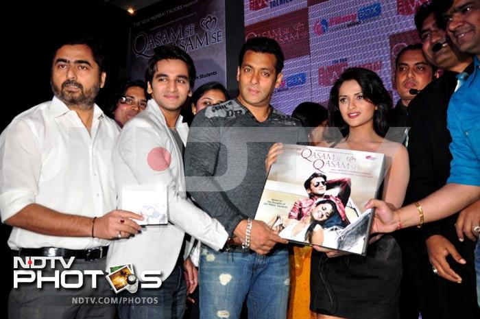 Salman Khan at a music launch
