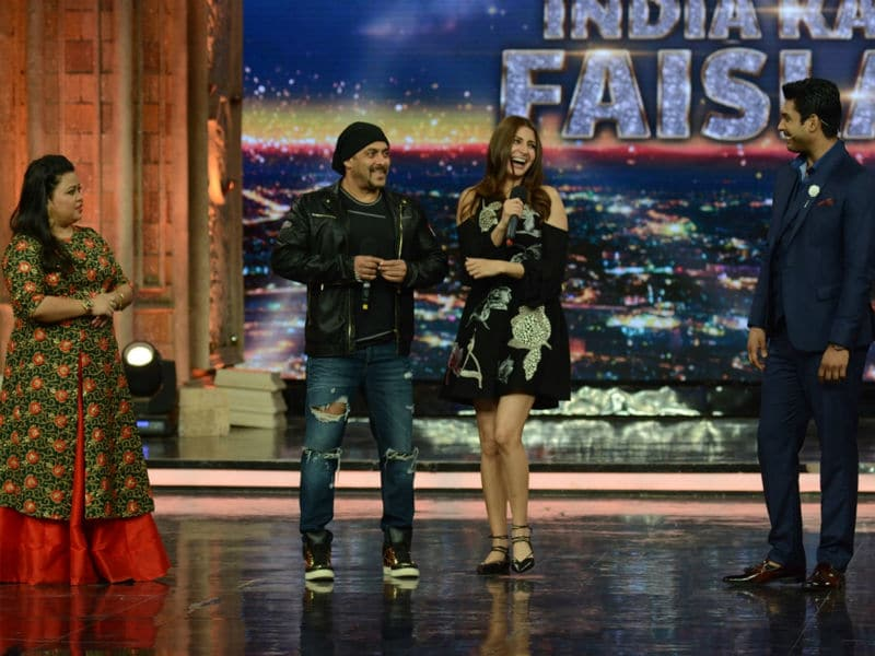 Salman Khan, Anushka Sharma Got Talent