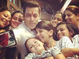 Photo : Rakhi Round up: How Salman, Genelia, Hrithik Celebrated