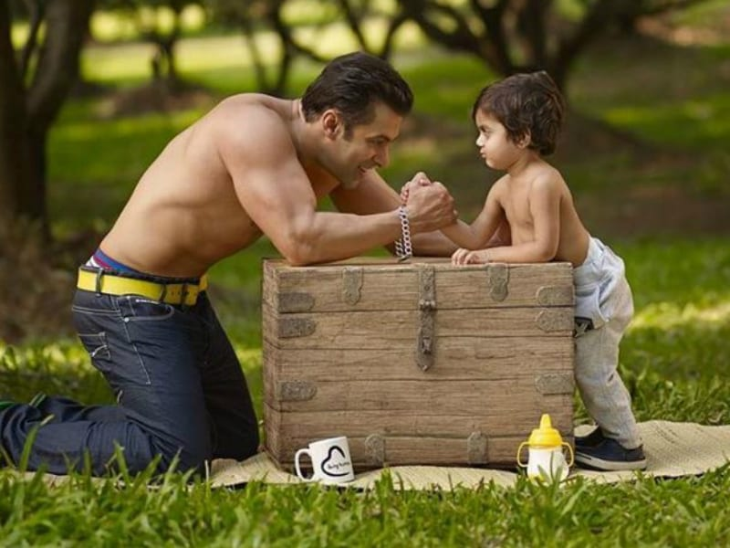 Adorable Pics From Salman Khan, Starring Cutie Pies Of All Sizes