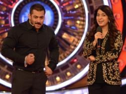 Photo : Salman, Juhi's Jalwe Hazaar on Bigg Boss