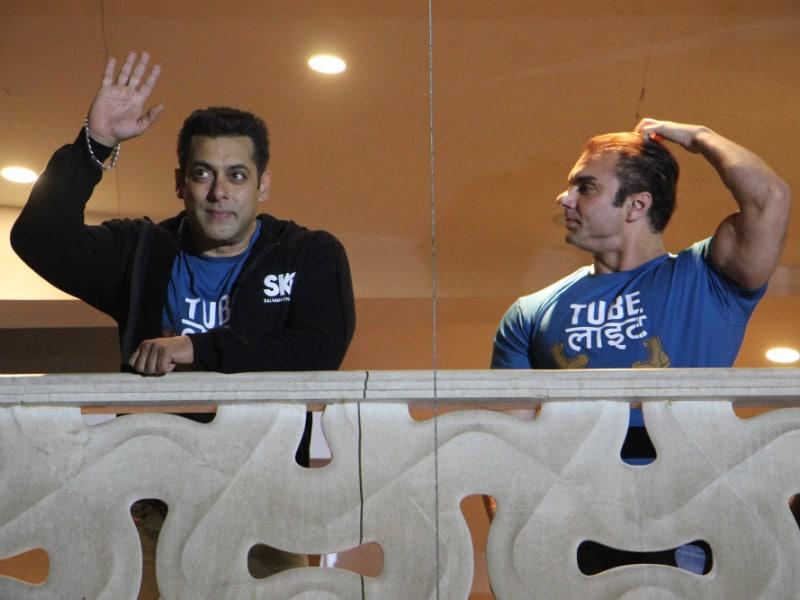 When Tubelight Salman Khan Met Fans