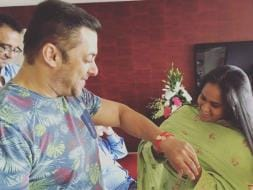 Photo : Salman Khan's Pyaar Bhara Raksha Bandhan With Arpita, Alvira