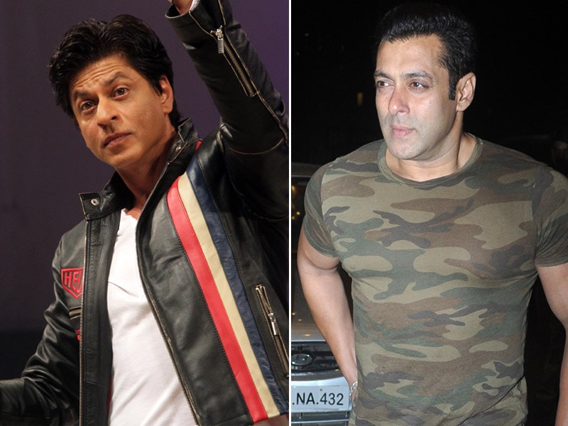 Khan's Night Out: Shah Rukh Works, Salman Off-Duty