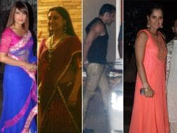 Photo : Lights, camera, Diwali: Bipasha, Rani, Salman, Sania