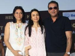 Photo : Helping out: Sanjay, Priya, Namrata