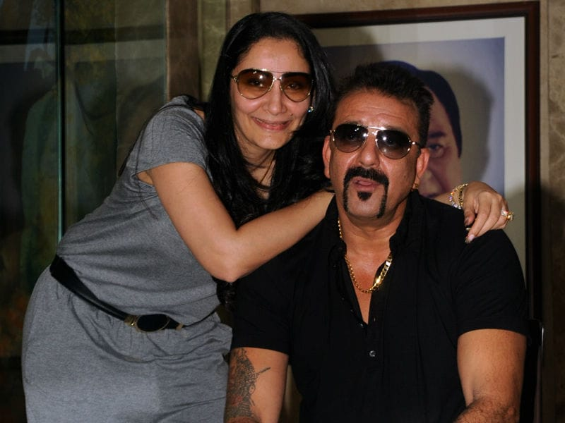Sanjay Dutt Celebrates Birthday With Media in Style