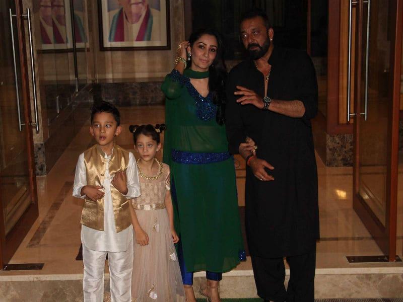 Eid Mubarak With Sanjay Dutt And Team Bhoomi