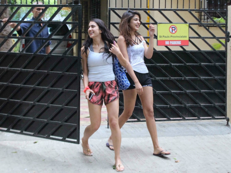 Sara Ali Khan Spotted On A Summer Afternoon