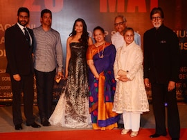 Bachchans Watch <i>Sarbjit</i> With Other Celebs