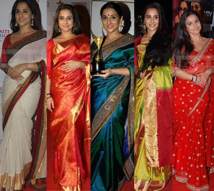 Bollywoods Saree Style