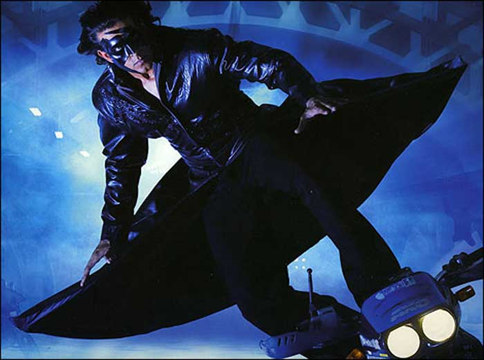 krrish Sci fi movies over the years