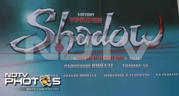 Venkatesh's Shadow movie launch