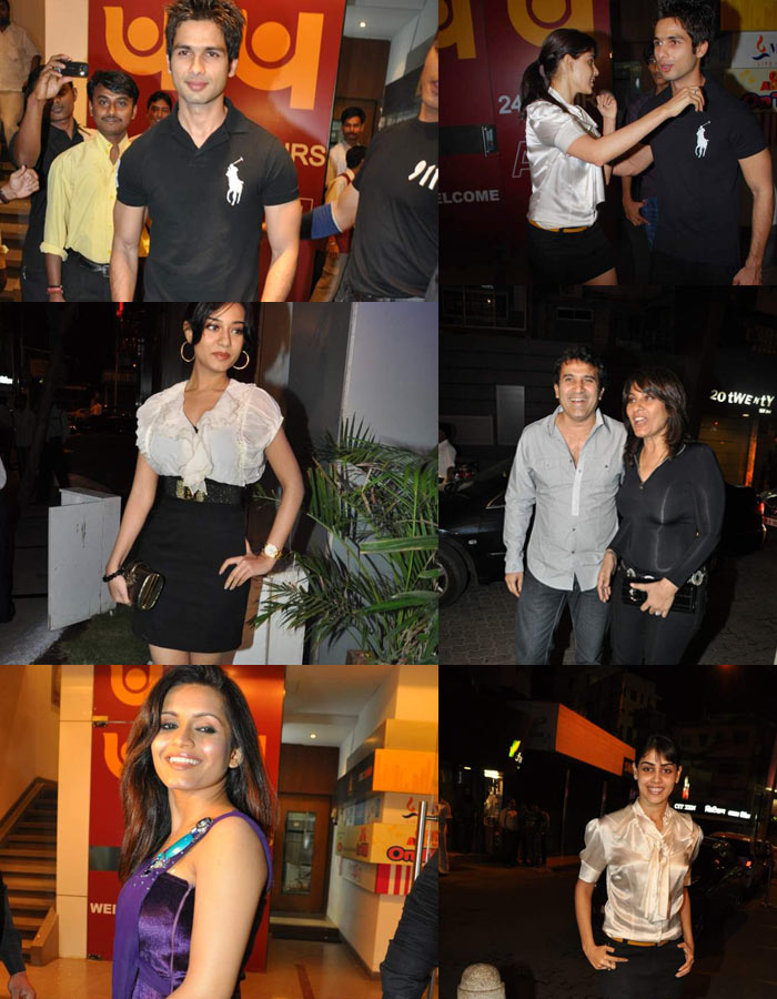 Shahid's birthday bash