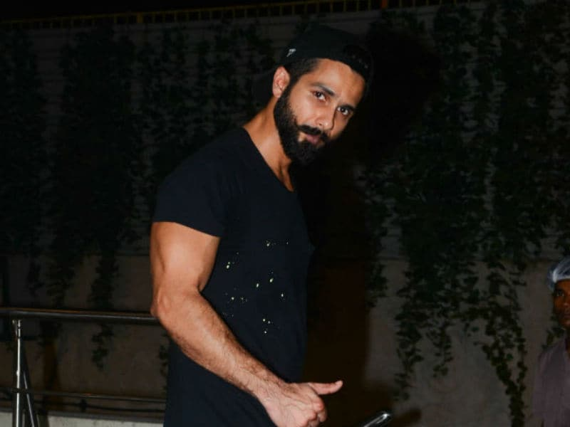 Fitness Mode On For Shahid Kapoor