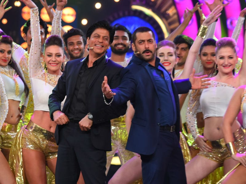 Shah Rukh, Salman's Karan Arjun Milaap on Bigg Boss