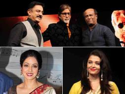 Photo : Rajinikanth, Kamal Haasan, Sridevi, Ash Root for Shamitabh