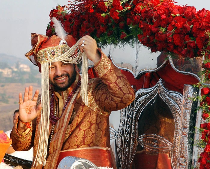 Shilpa's wedding: The baarat arrives