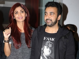 Shilpa Shetty And Husband Raj Kundra Spotted Hand-In-Hand