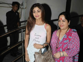 Shilpa Shetty's Movie Date With Family