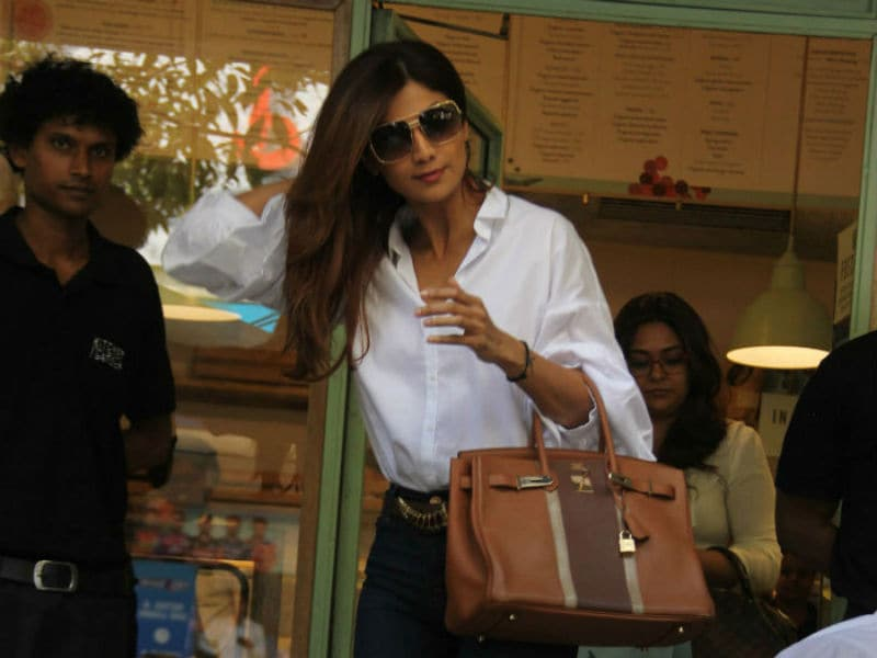 Shilpa Shetty Nails The Summer Look In White
